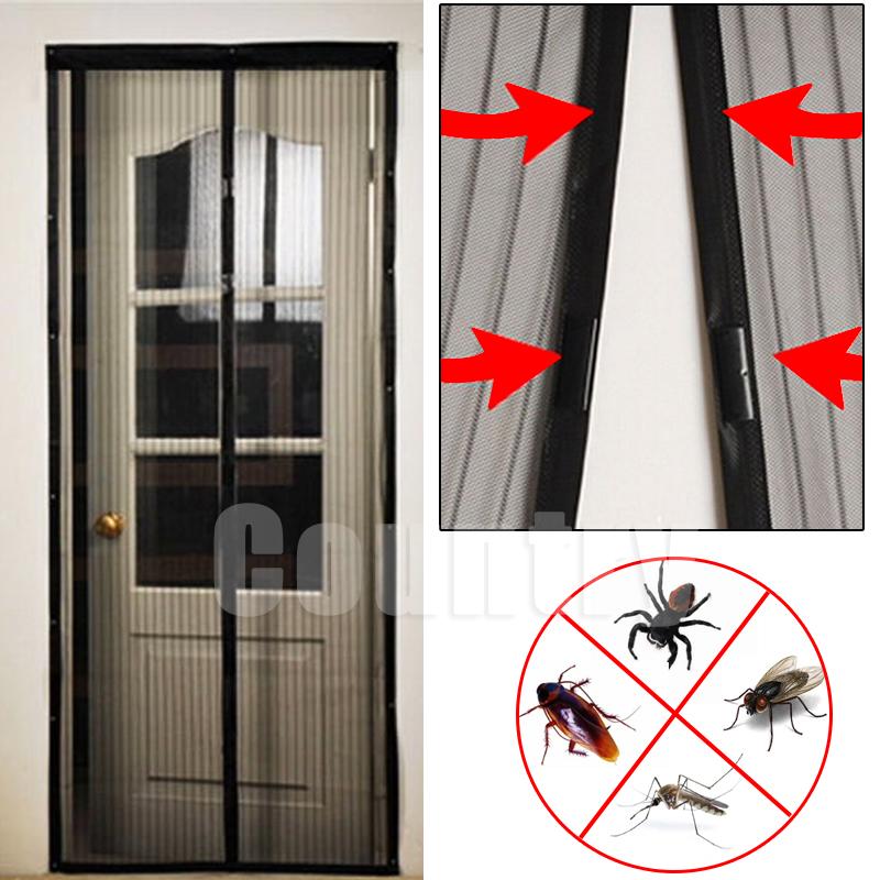 magnetic mesh screen door installation instructions